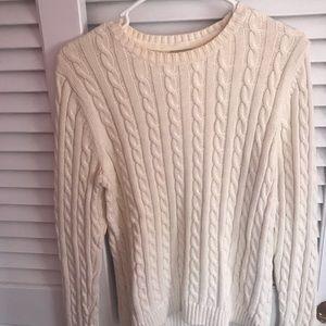 LLBean Cableknit Sweater